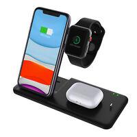 Für iPhone 11 Pro Max/Samsung Galaxy/Apple iWatch Ladegerät  Docking Ladestation