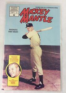 MLB 1991 Mickey Mantle, New York Yankees 1st Edition Magnum Comics