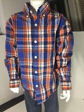 Boys Size S 4-5 Button up Dress shirt Falls Creek Brand. Excellent