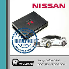 Genuine Authentic Nissan GT-R R35 Metal Emblem Pin White Carbon Great Gift JDM