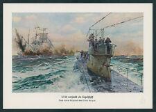Claus Bergen Kaiserliche Marine Kurt Wippern U-Boot U 58 Feindfahrt Atlantik ´17