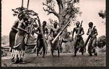 AC1426  ETHNIC BLACK AFRICA YOUNG BOYS BASSARI TRIBE DANCING   RPPC
