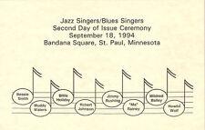 #2854-61 2nd Day Program Jazz & Blues Stamps