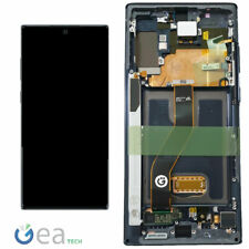 SAMSUNG Display LCD Originale +Touch Screen Per Galaxy NOTE 10+ N975F Aura Black