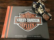 ART OF THE HARLEY DAVIDSON MOTORCYCLE Book Deluxe Edition Dain Gingerelli Bobber