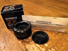Quantaray 2X AF Tele Converter Lens for Nikon MINT CONDITION