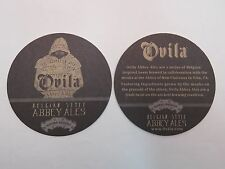 Beer Bar COASTER ~ SIERRA NEVADA Belgian Style Abbey Ales <> OVILA Collaboration