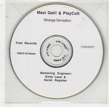 (HB616) Maxi Geil! & PlayColt, Strange Sensation - 2007 DJ CD