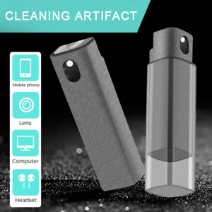 3 in 1 Fingerprint-proof Screen Cleaner Spray for Touchscreen Cleaning 15ml