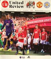 MANCHESTER UNITED V LEICESTER CITY 2019/20