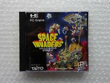 Space invaders nec pc engine hu card japan