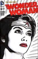 WONDER WOMAN #36 ORIGINAL COVER ART SKETCH COA