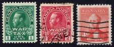 CANADA 3 USED stamps @E2484