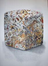 César Baldaccini, dit César estampe quadri et litho sur velin compression art