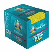 2020 Panini Euro Tournament Edition BLUE 50 pack Box 250 Stickers UEFA