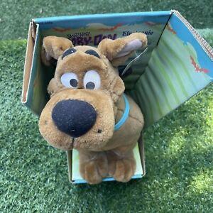 "2000 Cartoon Network Talking Scooby Doo Plush 14"" Hanna-Barbera"