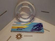 Puch Maxi S N Mofa KMC Kettensatz 10 Zähne Ritzel 45 Zähne Kettenrad + Kette