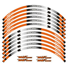 "For KTM DUKE 790 Motorcycle Custom 17"" Rim Stripes Wheel Decal Tape Sticker"