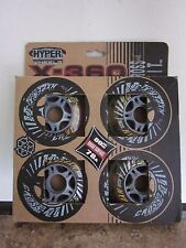 Hyper Wheels X-360 Cross Fit 80mm Rough Surface 78A 4 pack New in Box