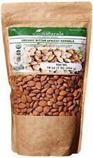Bitter Apricot Kernels/Seeds 1LB 16oz 454G, 100% USDA Certified Organic Bitter -