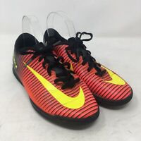 NIKE Mercurial X Football Trainers UK 5 US 5.5Y EU 38 Astro Turf Red Pink Boots
