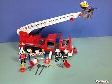 (K201) playmobil camion de pompiers grande échelle ref 3182 4819