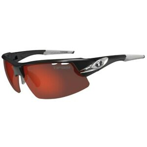 Tifosi Crit Race Silver Multi Lens Sunglasses Clarion Red/AC Red/Clear