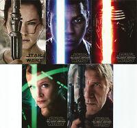 Star Wars Force Awakens Series 2 ~ MINI-MASTER SET (Base + Inserts) 170 cards