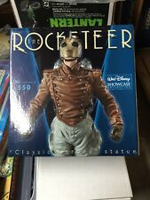 THE ROCKETEER Classic Heroes STATUE SIDESHOW Maquette ELECTRIC TIKI DISNEY RARE!