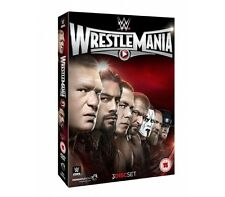 Official  WWE - Wrestlemania 31 (XXXI) 2015 Event DVD (3 Disc Set)