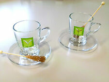 Tee Tassen genießen Liebe für zwei Roibusch Grüner Tee Geschenkidee Geschenk