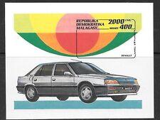 MALAGASY 1992 CARS  M/SHEET  MNH