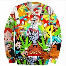 Cool Women/Men Drugs 3D Print Casual Sweatshirt hoodies ZH75