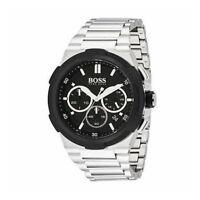 100% New Hugo Boss BLACK 1513359 Supernova Chronograph Black Dial Men's Watch