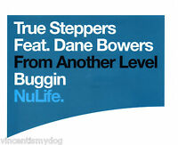 TRUE STEPPERS feat. DANE BOWERS - BUGGIN (3 track CD single)
