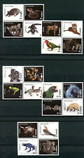 Samoa 2016 MNH Animals of World 20v Birds Parrots Tigers Frogs Turtles Stamps