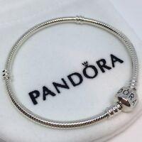Sterling Silver Pulsera MOMENTS BARRIL 18-19 cm ALE S925 Genuine Pandora bag