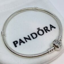 Sterling Silver Pulsera MOMENTS BARRIL 18-19 cm ALE S925 Genuine Pandora bag