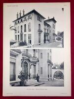 Grasse Villa Chiris 1920 Architecte Bompar Cannes Côte d'Azur Alpes Maritimes