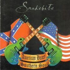 CD SNAKEBITE - American Heart, Southern Soul / Southern Rock USA 2004