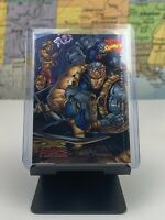 SHIPS SAME DAY Marvel Comics Card X Force Young Blood Wizard Promo Holo #6 1996