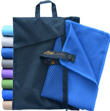 Sunland Microfiber Travel Beach Towel Extra Large Quick Dry Sports Yoga Towels