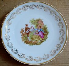 Limoges Collectors Plate Old Fashioned Scene #2