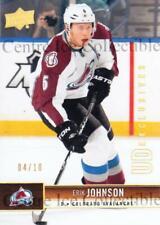 2012-13 Upper Deck UD Exclusives Spectrum #45 Erik Johnson