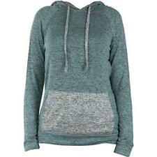 Hello Mello Hooded Top, Long Sleeve with Tote Bag - Mint - Large