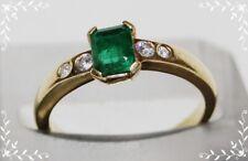 Diamant-Smaragd Ring 750er Gold