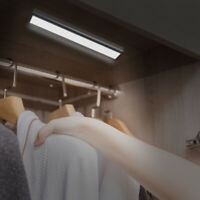 20 LED USB Rechargeable PIR Motion Sensor Night Light Lamp Wall Wardrobe