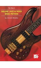 Mel Bays Rock Studies For Bass Guitar Bottom Line Book Deluxe Jazz & Rock Method