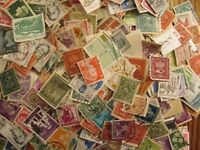HENRY'S STAMPS - 1000 WORLDWIDE--USED/OFF PAPER- LARGE/SMALL FORMAT MIX -
