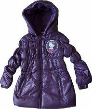 Girls Hello Kitty Charmmy Kitty Puffa Jacket Purple 4 Years 104cm
